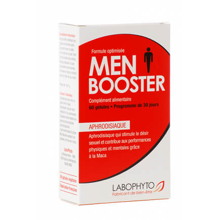 Aphrodisiaque Men Booster 60 gélules Labophyto