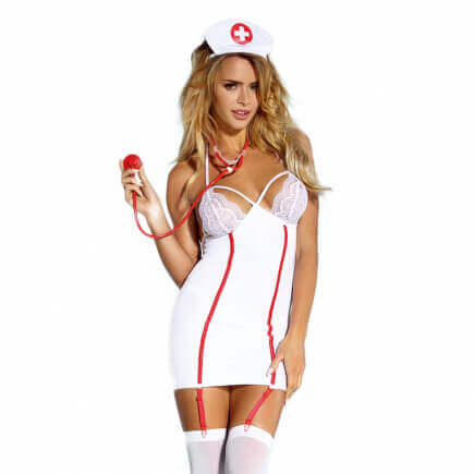 Costume Nuisette Infirmière Sexy - Costumi