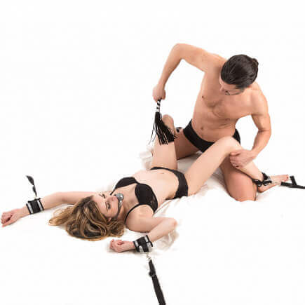 Set d'Attaches Sexuelles Fetish et Bondage