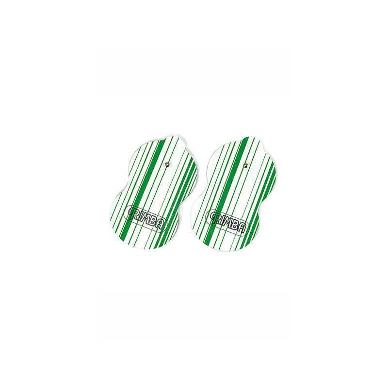 2 Electrodes Adhesives Autocollantes de Rimba